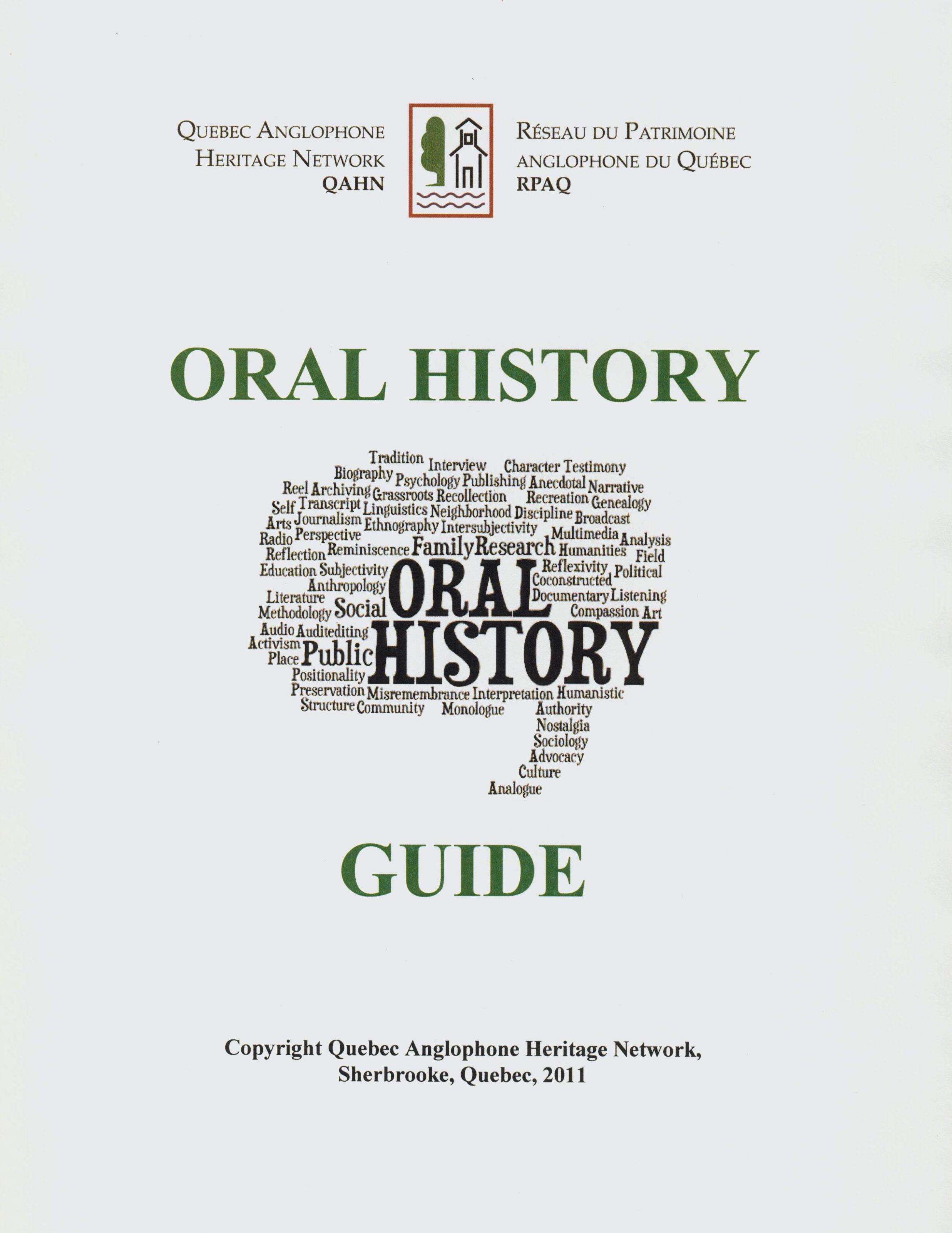 oral history narrative essay 2016-1-17  oral history essay interpretive conflict in oral narrative research introduction in her essay katherine borland recounts her grandmother's remembrances.