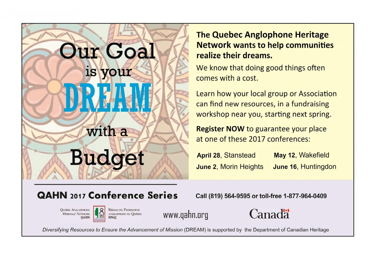 DREAM workshops @ Colby-Curtis Museum | Canada