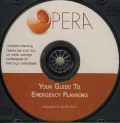 Organized Planning and Emergency Response Assistant (OPERA): Your Guide to Emergency Planning (CD)
